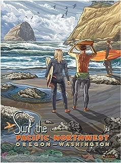 Best surf poster art Reviews