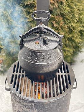 Pressure cooker Cauldron afghan instant 6qt/6L CAMPING POT/CAMPING STOVE/KAZAN Oven Uzbek