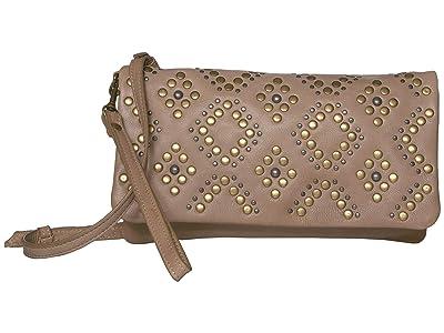 Lucky Brand Kune Crossbody (Dove) Handbags