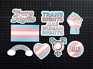 Trans Pride Sticker Set