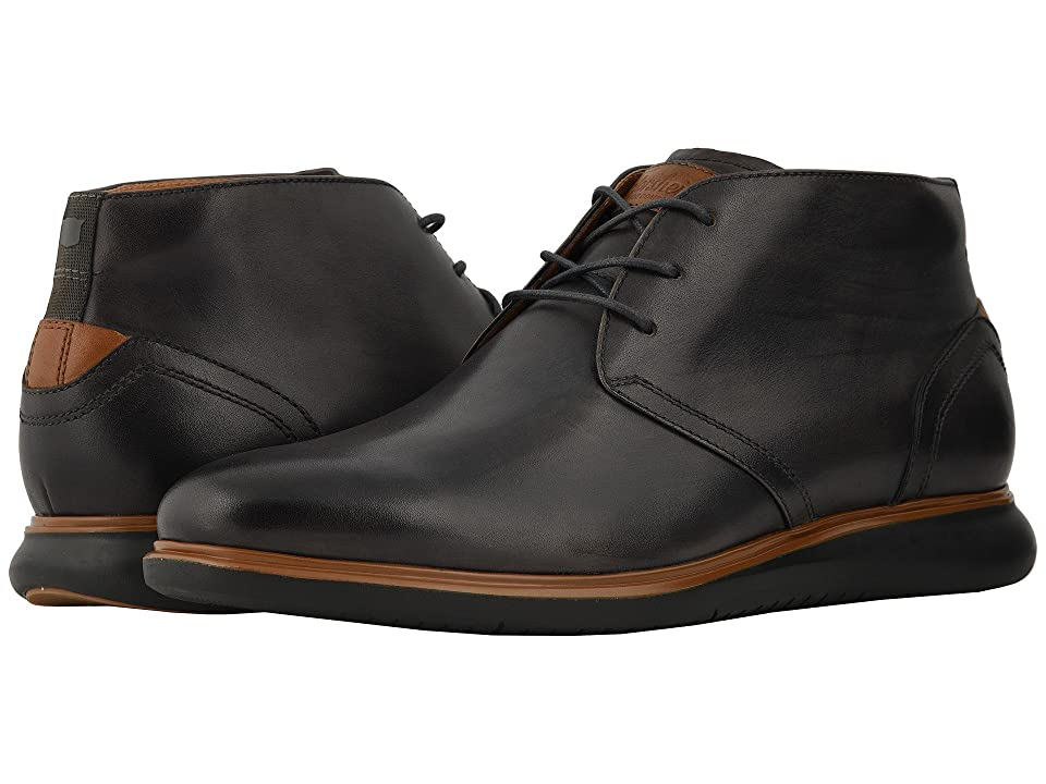 Florsheim Fuel Plain Toe Chukka (Grey/Black Sole) Men