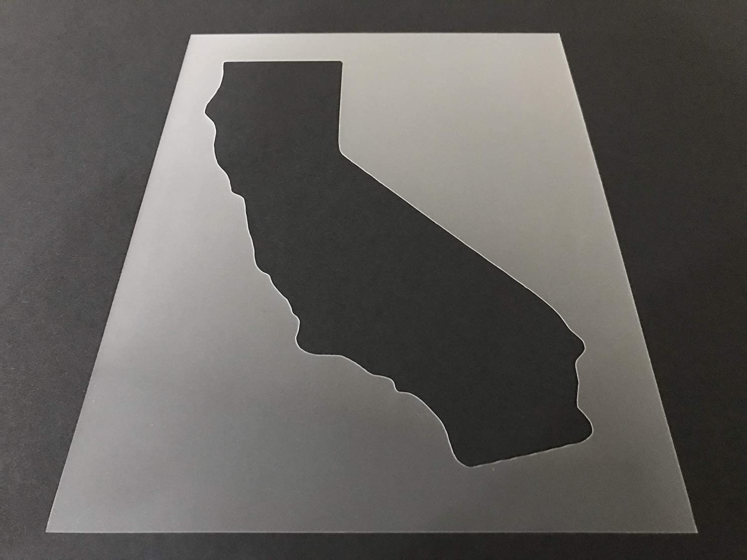 California #1 Stencil Translated Reusable 10 mil sheet Directly managed store Thick 10.5in 8in x