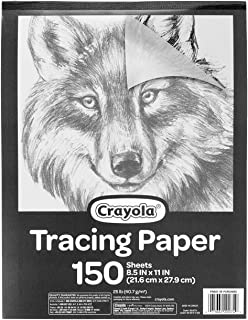 "Crayola Tracing Paper 8 1/2"" X 11"", Great for Light Up..."
