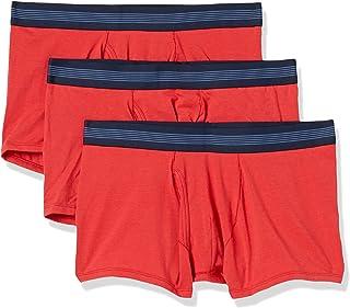 Amazon Brand - Goodthreads Men's Standard 3-Pack Cotton Modal Stretch Knit Trunk Underwear