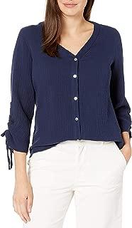 Foxcroft Women's Marley Double Face Guaze Shirt