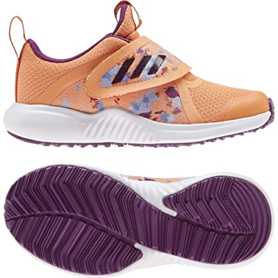 adidas Kids Fortarun X Frozen CF (Little Kid) (Amber Tint/Glory Purple/Glory Amber) Girl