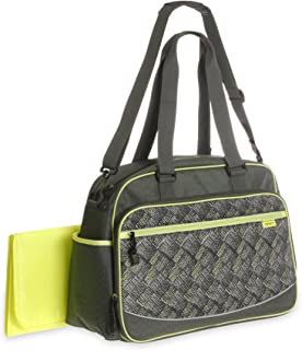 Carter's Sport Duffel Diaper Bag, Grey/Peach