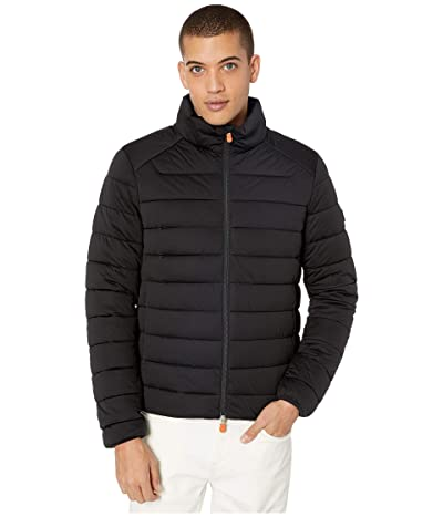Save the Duck Sold 9 Stretch Puffer Jacket (Black) Men