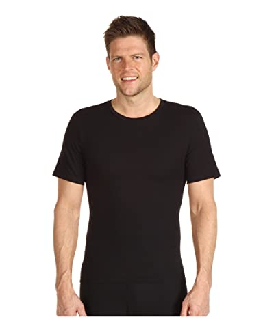 Spanx for Men Cotton Compression Crew (Black) Men