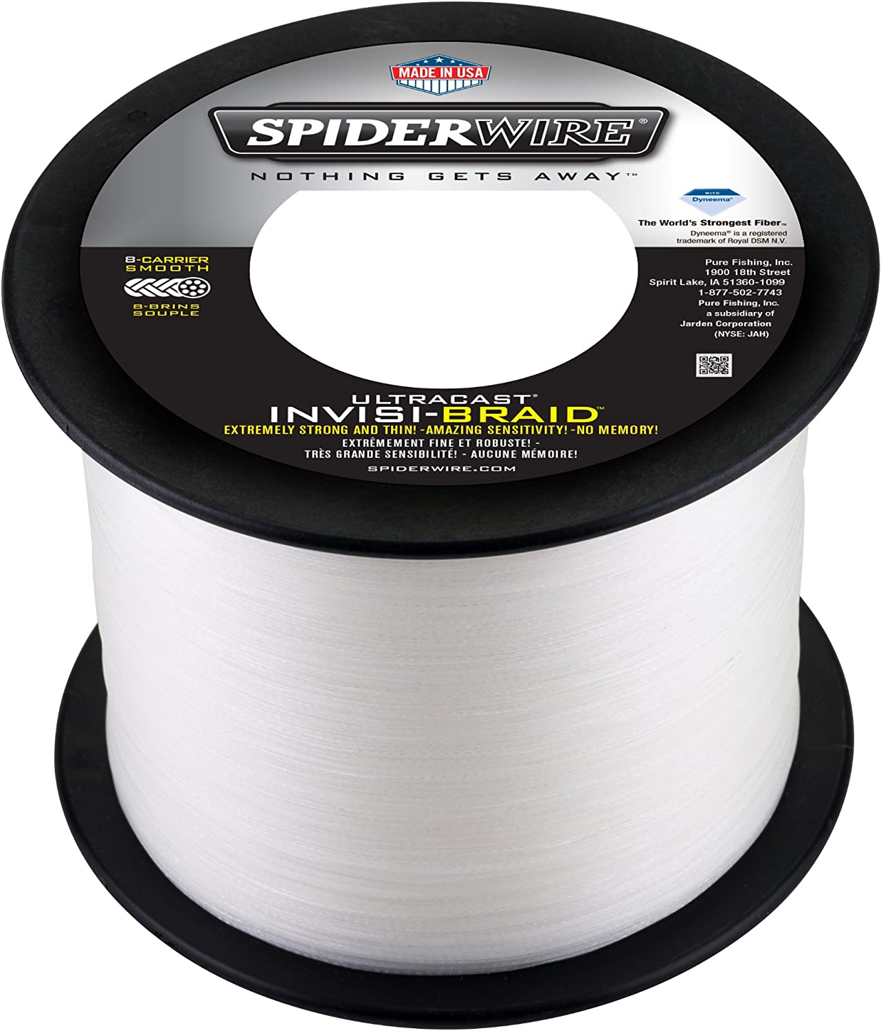 Spiderwire InvisiBraid Ultracast Line 15 lb 1500 Yards 1197317