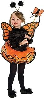 Rubie's Child's Costume, Orange Butterfly Costume-Small