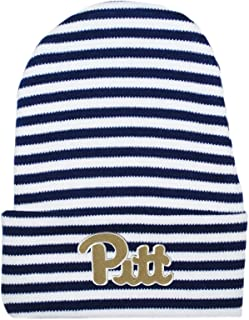 Creative Knitwear University of Pittsburgh Striped Newborn Knit Cap
