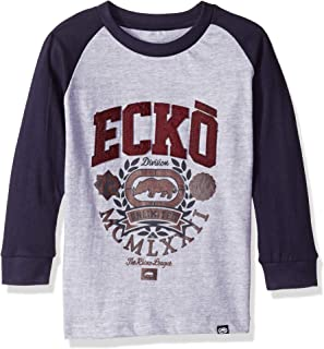 Marc Ecko Boys' Long Sleeve Color Block T-Shirt