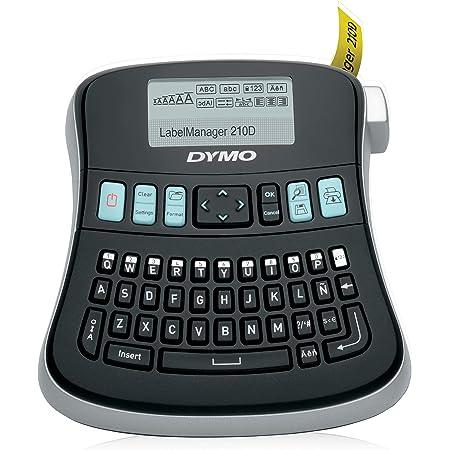 Dymo LabelManager 160 - Etiquetadora de mano, color negro Label Maker