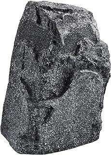 """MONACOR GLS-301/GR, weerbestendige ELA Garden Speaker """"Rock"""" in Stone Look, Outdoor Luidspreker voor het afspelen van muzi..."""