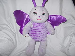 Build a Bear Workshop Ladybug Lavendar Purple Plush Toy 15
