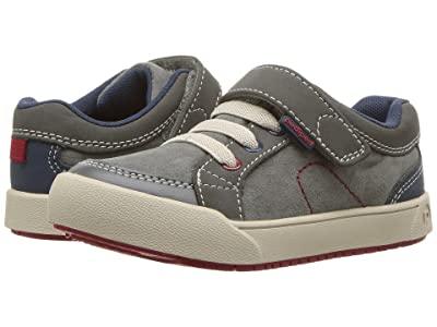 pediped Dani Flex (Toddler/Little Kid) (Grey) Boy
