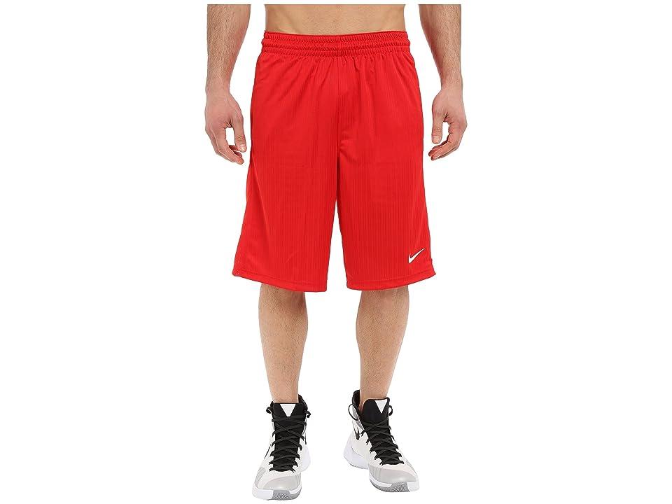 Nike Layup Shorts 2.0 (University Red/University Red/University Red/White) Men