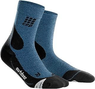 CEP Womens Dynamic+ Outdoor Merino mid-Cut Socks, Women WP4C4-P