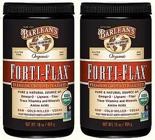 Barlean's, Organic Forti-Flax, Premium Ground Flaxseed, 16 oz (454 g) - 2pc