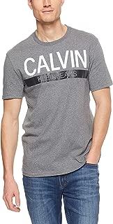 Calvin Klein Men's Knockout Stripe Crew Tee