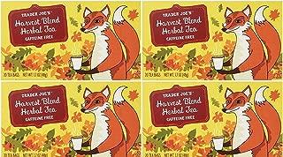 Trader Joe's - 4 Pack - Harvest Blend Herbal Tea