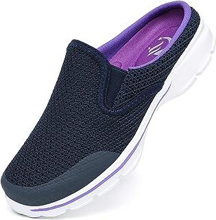 SMajong Zuecos y Mules para Hombre Mujer Comodas Zapatillas de Casa Respirable Ligeros Chanclas Exterior y Interior Talla:...