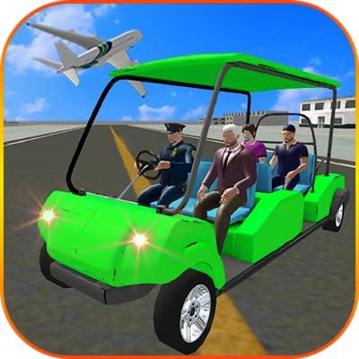 Airport Golf Cart Simulator