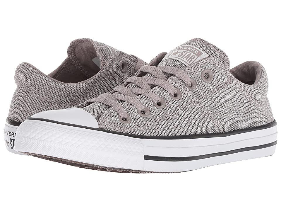 8066673ffa508f Converse Chuck Taylor All Star Madison Salt and Pepper Ox (Mercury Grey  Mouse White) Women s Lace up casual Shoes