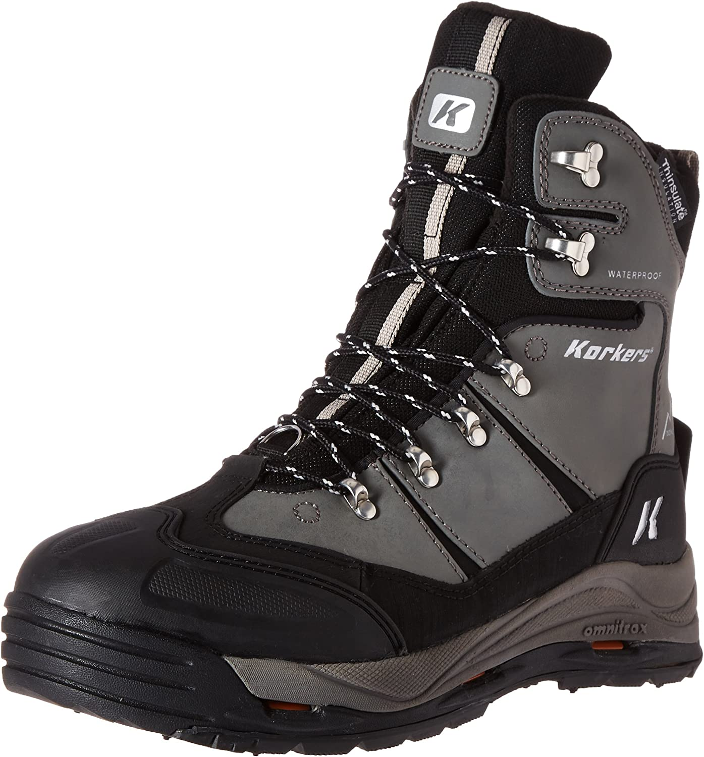 SALENEW very popular 2021 new Korkers SnowJack with SnowTrac and Outdoor Boot IceTrac Outsoles