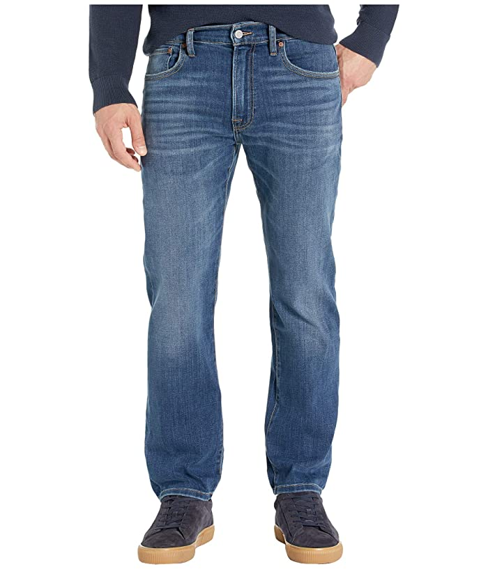 Lucky Brand  223 Straight Jeans in Heron Isle (Heron Isle) Mens Jeans