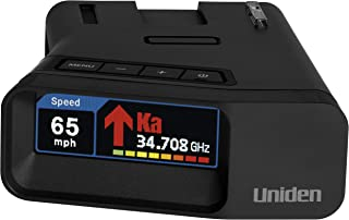 Uniden R7 EXTREME LONG RANGE Laser/Radar Detector, Built-in GPS w/ Real-Time Alerts, Dual-Antennas Front & Rear w/Directio...