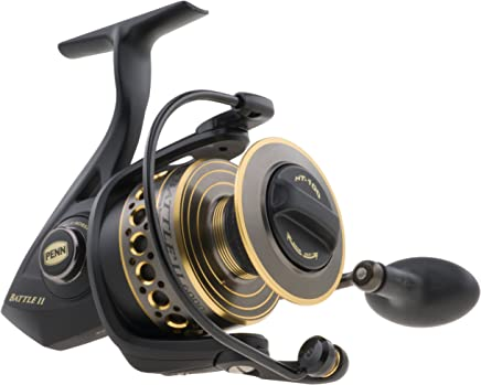 Penn 1338220 Battle II 5000 Spinning Fishing Reel