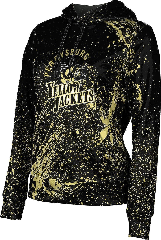 ProSphere Perrysburg High School Girls' Pullover Hoodie, School Spirit Sweatshirt (Splatter)