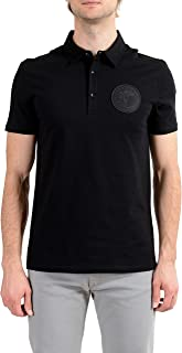 Collection Men's Black Logo Short Sleeve Polo T-Shirt Sz US 2XL IT 56
