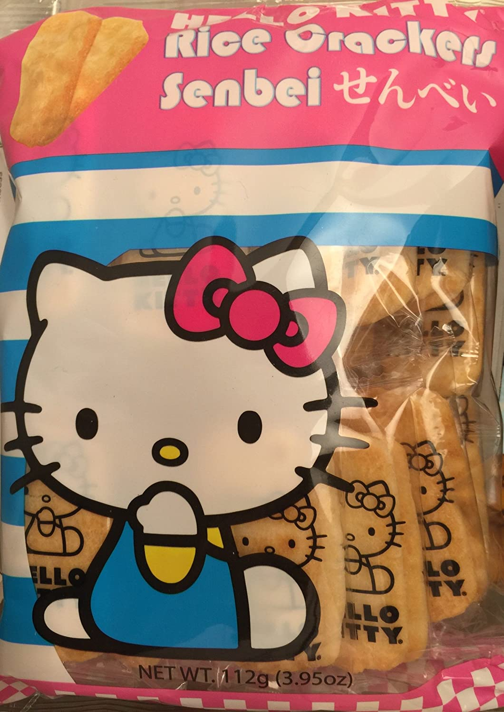 Hello Atlanta Mall Kitty Senbei Rice 112 Grams Excellent Crackers