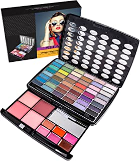 SHANY Glamour Girl Makeup Kit - 48 Eyeshadow/4 Blush/6 Lip Glosses
