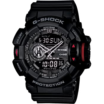 [カシオ] 腕時計 ジーショック GA-400-1BJF ブラック