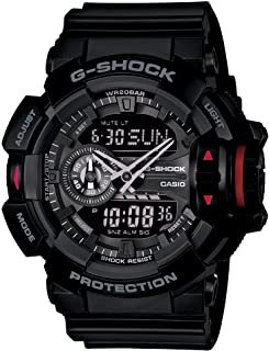 Casio G-Shock Analogue/Digital Mens Black Rotary Switch Series Watch GA-400-1B