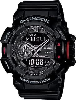 Casio G-Shock Analogue/Digital Mens Black Rotary Switch Series Watch GA-400-1B