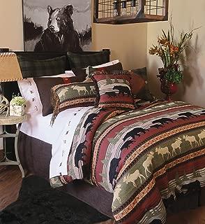 Carstens, Inc Ontario Wilderness 5 Piece Bedding Set, Queen, Queen, Queen