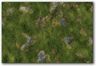 Frontline Gaming - FLG Mat - Grasslands 2 6x4' - Neoprene Wargaming Mat