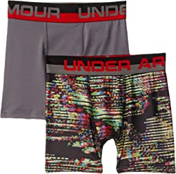 2-Pack Static Print Boxer Set (Big Kids)