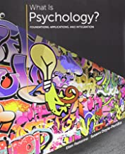 Bundle: What is Psychology?: Foundations, Applications, and Integration, Loose-Leaf Version, 3rd + LMS Integrated for MindTap Psychology, 1 term (6 months) Printed Access Card