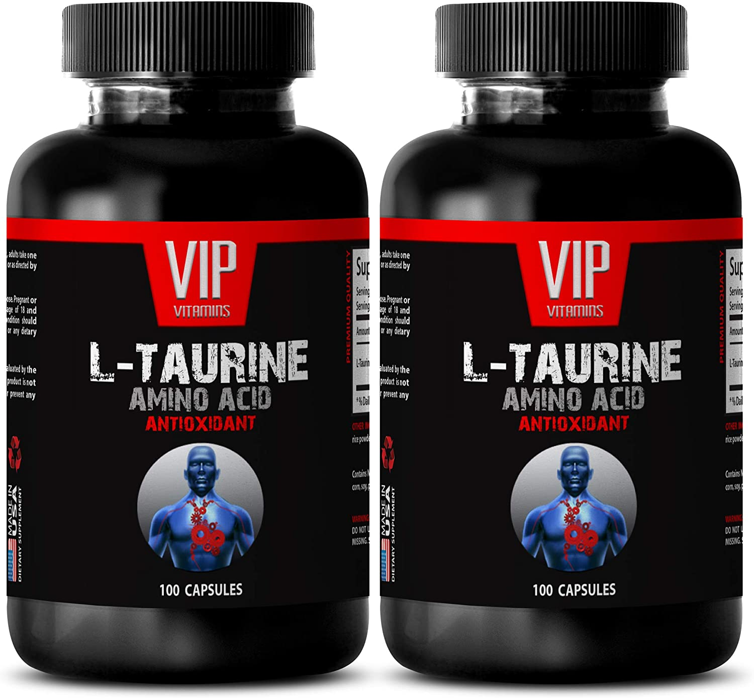 Weight Loss Fat Burner for Men Amino Dedication - L-Taurine Al sold out. 500MG Acid