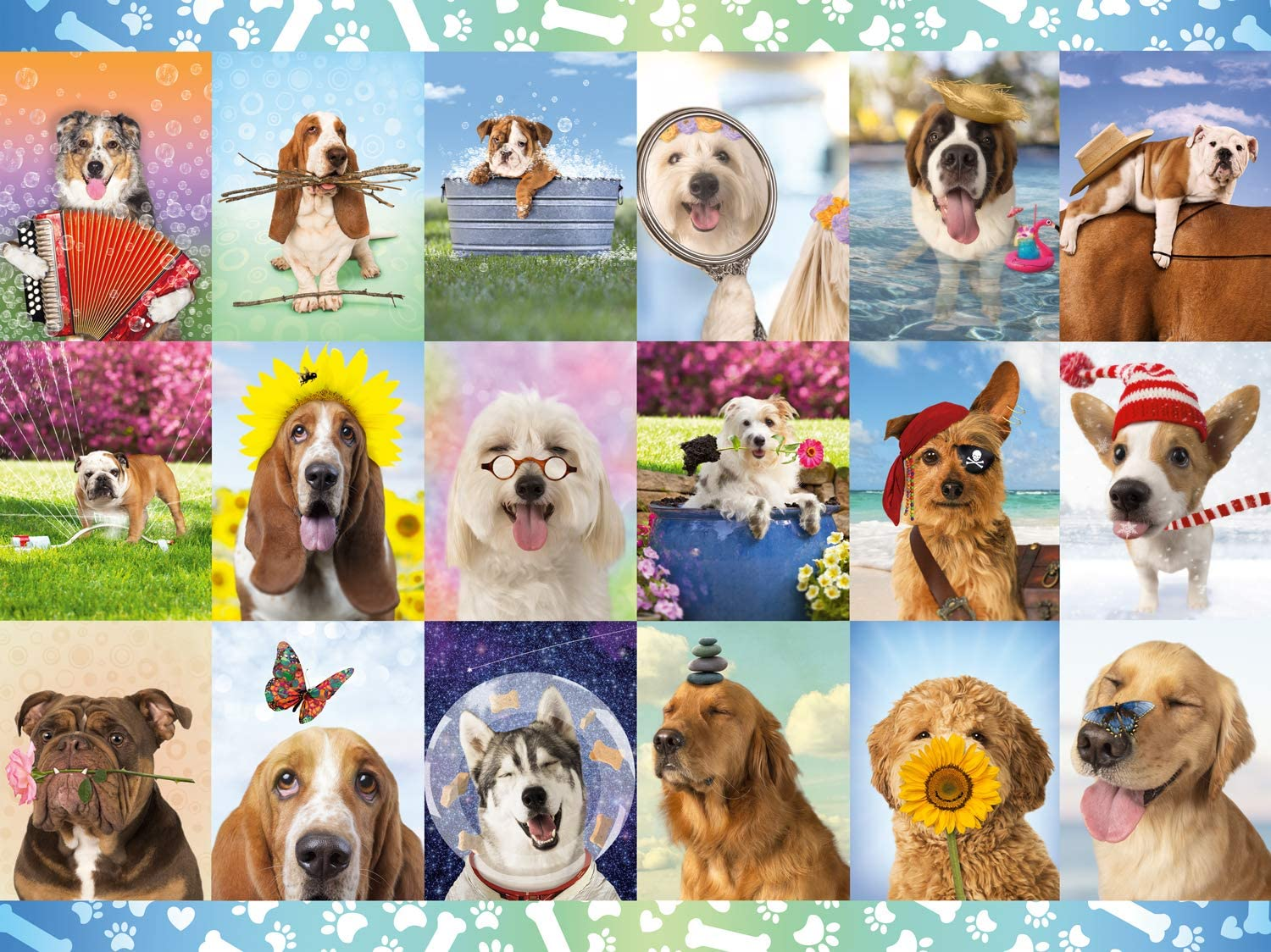 Buffalo Ranking TOP16 Games New Free Shipping - It's a Ruff Life Piece 1500 Puzzle Jigsaw