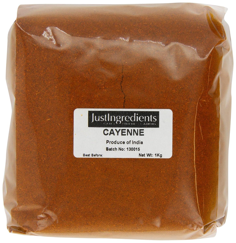 JustIngredients Cayenne Pepper Loose Special sale item 1 Kg of 2 price Pack
