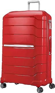Samsonite Flux - Spinner Equipaje de Mano, 81 cm, 145 litros, Rojo (Red)