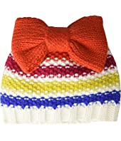 Stripe Beanie with Bow (Toddler/Little Kids)