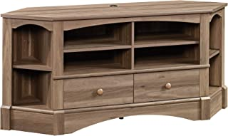Sauder Harbor View Corner Entertainment Credenza, For TV's up to 60